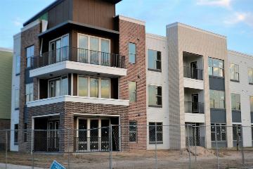 Oplevering appartementsgebouw