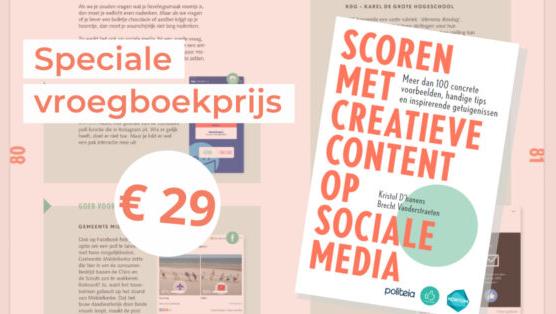 Leestip: 'Scoren met creatieve content op sociale media'