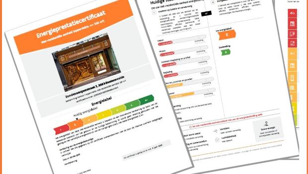 Advertentieplicht EPC klein niet-residentieel: labelgrenzen liggen anders dan voor woningen